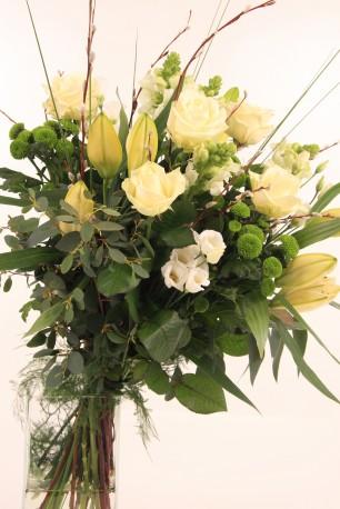 Classy Whites in a vase